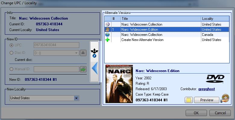 DVD Profiler screenshot